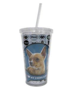 LittleGifts Tumbler, 18-Ounce, Chihuahua