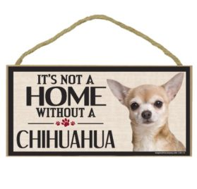Imagine This Wood Sign for Chihuahua Dog Breeds