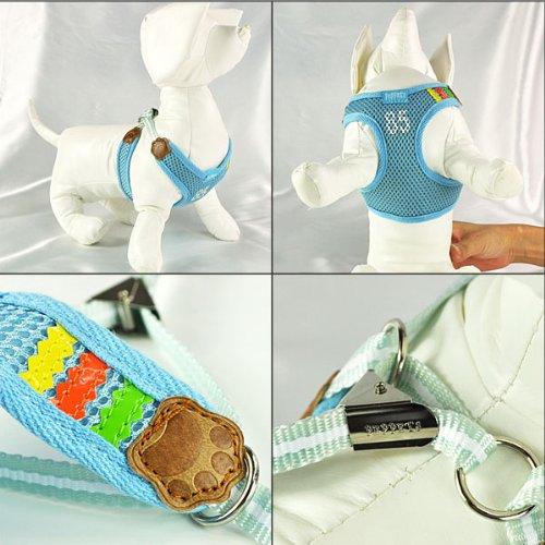 Adjustable Mesh Vest Harness with Leash for Pet Dog Cat 5
