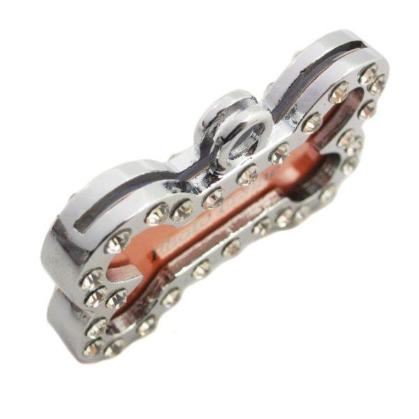 Harper Dual Leash with Photo Charm Keychain Set 7
