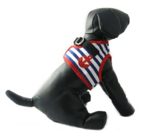 Alfie Couture Designer Pet Accessory - Vince Sailor Harness and Leash Set 3