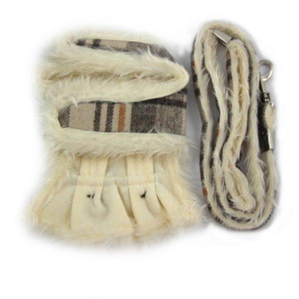 Alfie Couture Designer Pet Accessory - Keri Harness Vest and Leash Set - 6