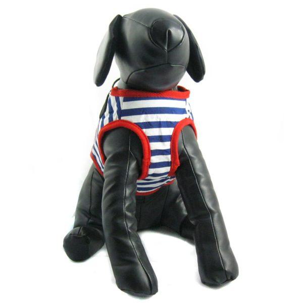 Alfie Couture Designer Pet Accessory - Vince Sailor Harness and Leash Set 4