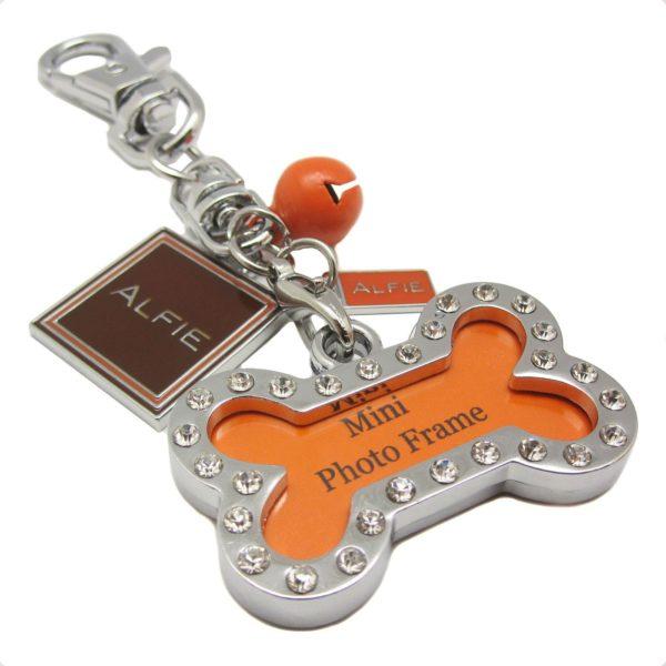 Harper Dual Leash with Photo Charm Keychain Set 8