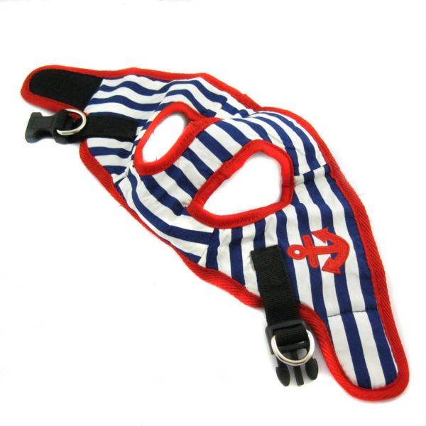 Alfie Couture Designer Pet Accessory - Vince Sailor Harness and Leash Set 9