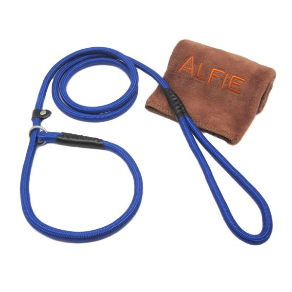 Avery Adjustable Slip Leash with Microfiber Fast-Dry Washcloth