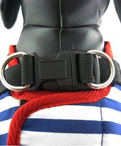 Alfie Couture Designer Pet Accessory - Vince Sailor Harness and Leash Set 5