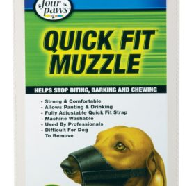 Quick Fit Dog Muzzle – Size 0