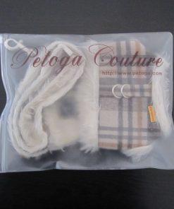 Alfie Couture Designer Pet Accessory - Keri Harness Vest and Leash Set - 9
