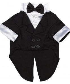 East Side Collection Polyester-Cotton Yappily Ever After Dog Groom Tuxedo 2