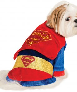 Rubies Costume DC Heroes and Villains Collection Pet Costume-Superman-1