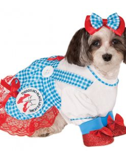 Wizard of Oz Dorothy Dog Costume-1