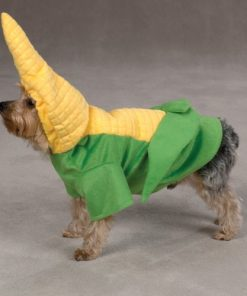Zack & Zoey Polyester Dog Corn on the Costume, X-Large, 24-Inch, Yellow-4