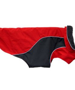 RC Pet Products Trilogy Jacket 3 in 1 Dog Coat, Red-3