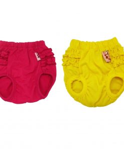 Alfie Pet Apparel - BAMI Diaper Dog Sanitary Pantie 2-Piece Set (for Girl Dogs)-2