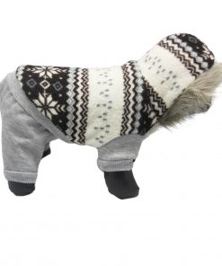Alfie Pet Apparel by Petoga Couture - Nova Hooded Jumper-1