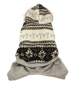 Alfie Pet Apparel by Petoga Couture - Nova Hooded Jumper-2