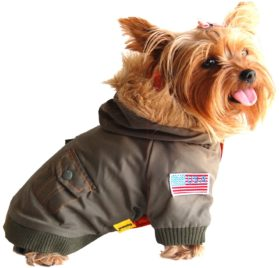 US Army Bomber Pet Jacket for dogs