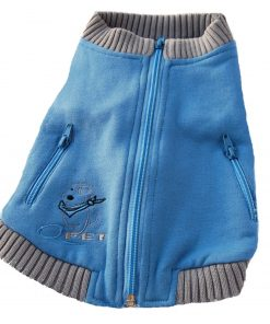 Zip-Up Sweatshirt Dog Apparel - Various Colors [Sizes: L-XS]