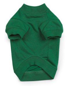 Zack & Zoey Naughty or Nice Pet Tee Shirt - Green-2