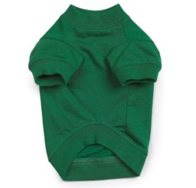 Zack & Zoey Naughty or Nice Pet Tee Shirt - Green-2