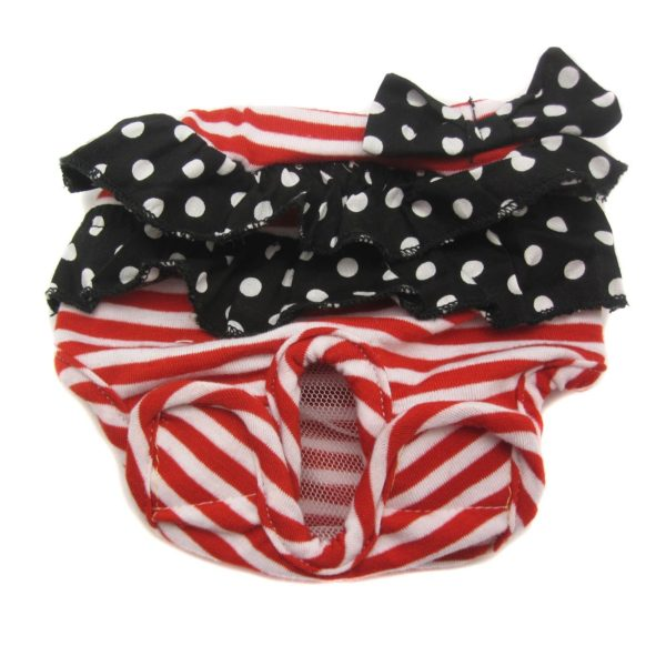 Alfie Pet Apparel by Petoga Couture - Anna Diaper Dog Sanitary Pantie (for Girl Dogs)-2