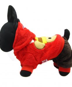 Alfie Couture Designer Pet Apparel - Lou Hooded Jumper-1