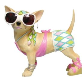Westland Giftware Fashionista Chihuahua Figurine