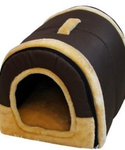 2 in 1 Pet Dog Cat Foldable House-Sofa Kennel Pet Bed Arc - 2