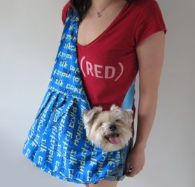 Alfie Pet by Petoga Couture - Kino Pet Sling Carrier - 1