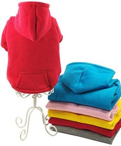 Pet Clothing Colorful Cotton Hoodies Dog Clothes for Spring Fashion Yorkshire Pitbull Poodle Chihuahua-1
