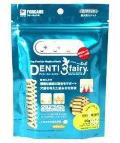 Forcans Denti 3fairy Dog helps tartar off 65g SS Dental Chew