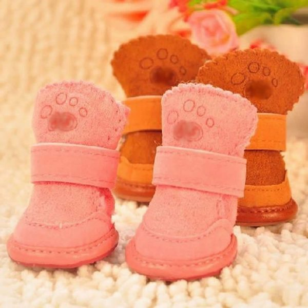 YSTD® Fancy Dress up Chihuahua Boots Dog Pet Cute Puppy Shoes For Small Dog Size S-XXL-4
