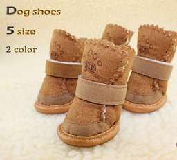 Happy Pets Unique Novel Nice Fashion Cool Interesting Cute Special Pet Sneakers Dog Cat Shoes Thermal Snow Boots Cotton Padded - 5 Size, 2 Colors-1