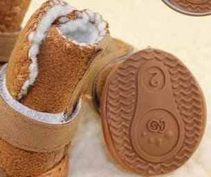 Happy Pets Unique Novel Nice Fashion Cool Interesting Cute Special Pet Sneakers Dog Cat Shoes Thermal Snow Boots Cotton Padded - 5 Size, 2 Colors-2