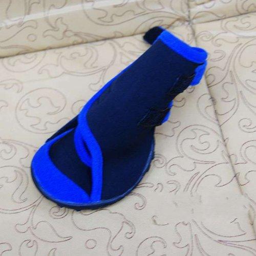 Honeystore Waterproof Suede Antiskid Dog Winter Boots Size XXS - 2
