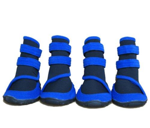 Honeystore Waterproof Suede Antiskid Dog Winter Boots Size XXS - 3