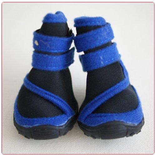 Honeystore Waterproof Suede Antiskid Dog Winter Boots Size XXS - 4