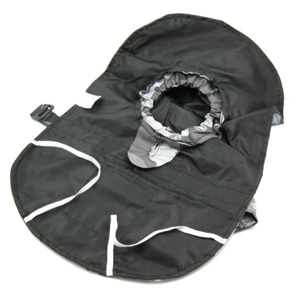 Alfie Couture Designer Pet Apparel - Waterproof Camouflage Raincoat - Color: Camouflage - 6