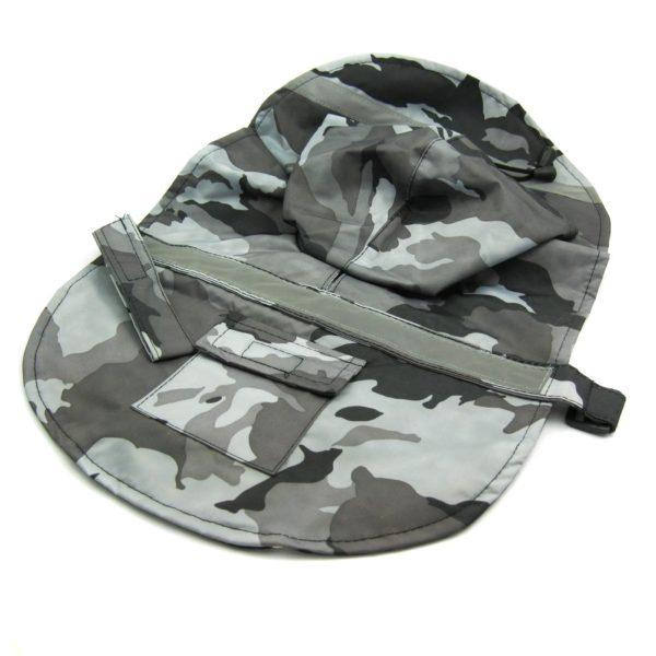 Alfie Couture Designer Pet Apparel - Waterproof Camouflage Raincoat - Color: Camouflage - 7
