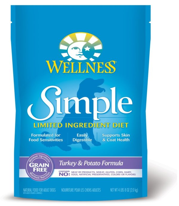 Wellness Simple Natural Limited Ingredient Dry Dog Food - 1