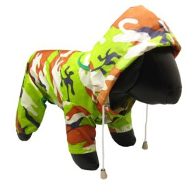 Alfie Pet Apparel - Reni Waterproof Camouflage Raincoat for Dogs - 2