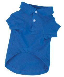 Zack & Zoey Pet Polo Shirt Shirt - Nautical Blue - 1