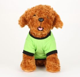 Commoditier Green Paw Summer Dog Outfit Dresses for Dogs Small Dog Shirts - 4