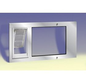 Patio Pacific - Thermo Sash 3e with Endura Flap pet door for sash windows - 2