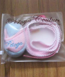 Paisley Ruffle Collar and Leash Set 4