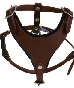 Leather Dog Harness (Malibu Classic).