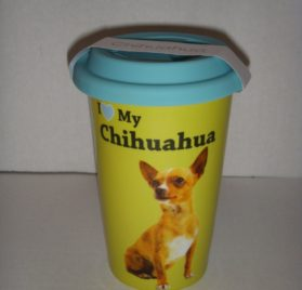 LittleGifts Double Wall Mug, Chihuahua