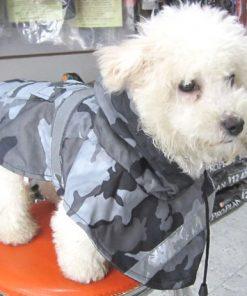 Alfie Couture Designer Pet Apparel - Waterproof Camouflage Raincoat - Color: Camouflage - 4