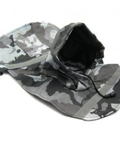 Alfie Couture Designer Pet Apparel - Waterproof Camouflage Raincoat - Color: Camouflage - 5